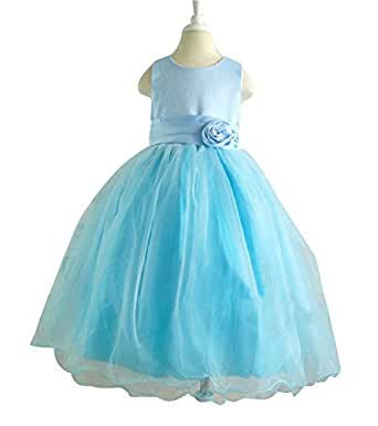 Amazon.com: Shiny Toddler Girls Princess Formal Flower ...