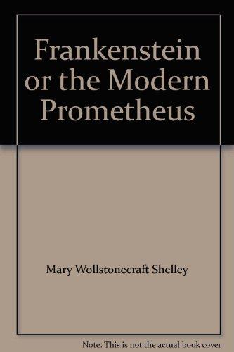 Frankenstein Shelley Pdf