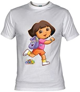 Mx Games Camiseta Dora la Exploradora Mochila (Talla: 5-6 años ...
