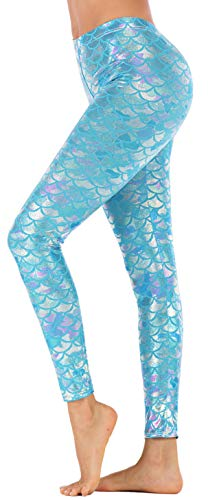 Blue Fish Costumes - Jescakoo Mermaid Outfit for Girls Digital