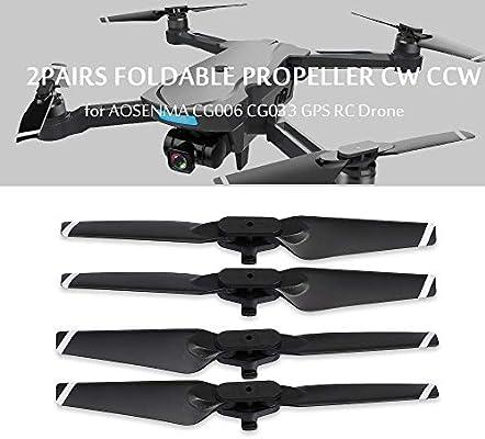 Leslaur Drone Blade propulsor Plegable CW CCW para AOSENMA CG006 ...