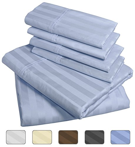 American Pillowcase Bed Sheet Set, 100% Egyptian Cotton, 540