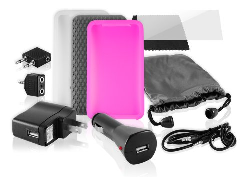 iPod Accessory, Ematic 11-in-1 Accessory Kit for iPod Touch