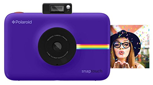 Digital Film Point And Camera Shoot (Polaroid Snap Touch Portable Instant Print Digital Camera with LCD Touchscreen Display (Purple))