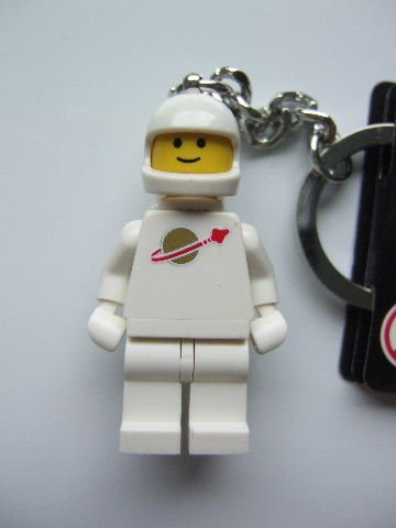 LEGO White Spaceman Key Chain [Toy]