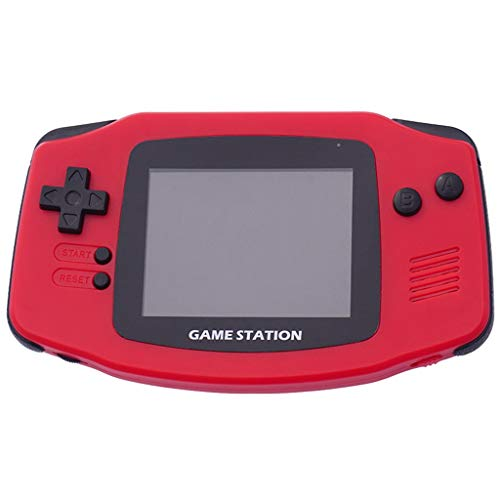 Cywulin Retro Mini Handheld Video Game Console Player Gameboy Built-in 400 Classic Games Travel Portable Gaming System Electronics Machines 2.8 Inch Support TV Play Present for Boy Kids Adult (Red)