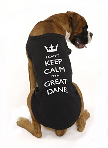 I Can't Keep Calm I'm A Vizsla, dog, by Bertie, (med/large breed size small) Free worldwide shipping