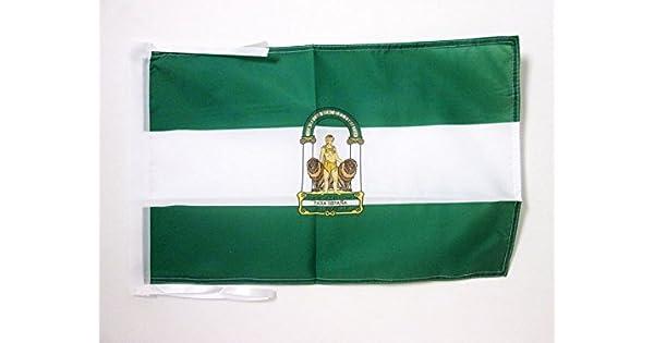 Amazon.com: Bandera de Andalucía 18