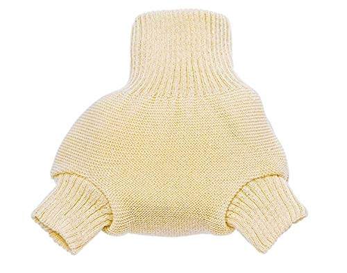 Disana Organic Merino Wool Cover-Natural-74/80 (6-12 mo) ()