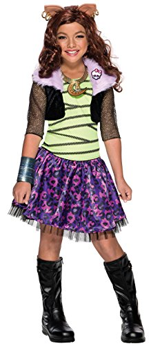 (Rubie's Child's Monster High Clawdeen Wolf Costume,)