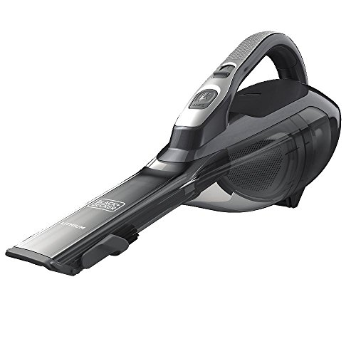 BLACK+DECKER dustbuster Handheld Vacuum, Cordless, Scented Filter, Titanium (HLVA325BS21)