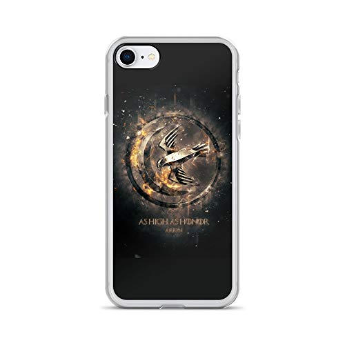 iPhone 7/8 Case Anti-Scratch Television Show Transparent Cases Cover Arryn Tv Shows Series Crystal Clear