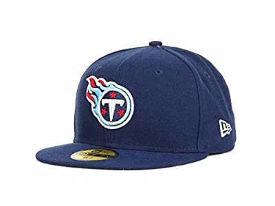 NFL Child Tennessee Titans On Field 5950 Navy Game Cap By New Era