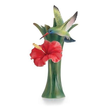 Amazon Franz Porcelain Collection Hummingbird Small Vase Home
