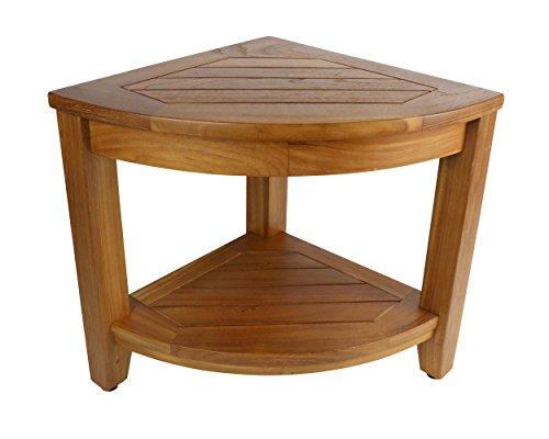 Teak Shower Table: Jakarta Corner Spa Table | H For Care