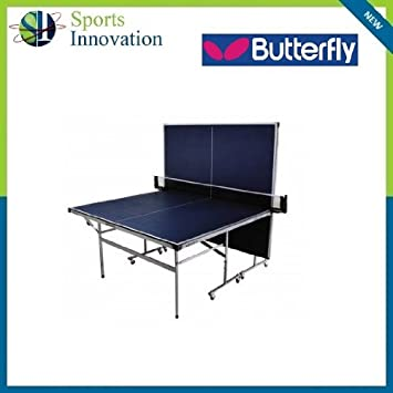 GREEN or BLUE Butterfly Easifold DX22 Indoor Table Tennis Table