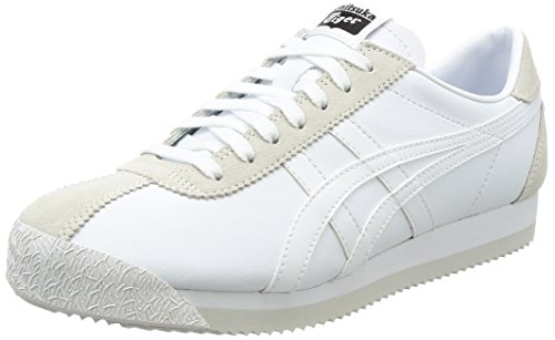 Elfenbein White Asics Erwachsene Gymnastikschuhe Unisex White Corsair Tiger gBgqxZwXU