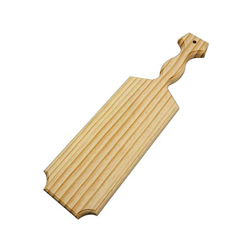 """Yonor Solid Pine Wood Paddle - Fraternity Or Sorority Greek Wooden Paddle - Unfinished Official Greek Wood Paddles (Mini:14"""")"""