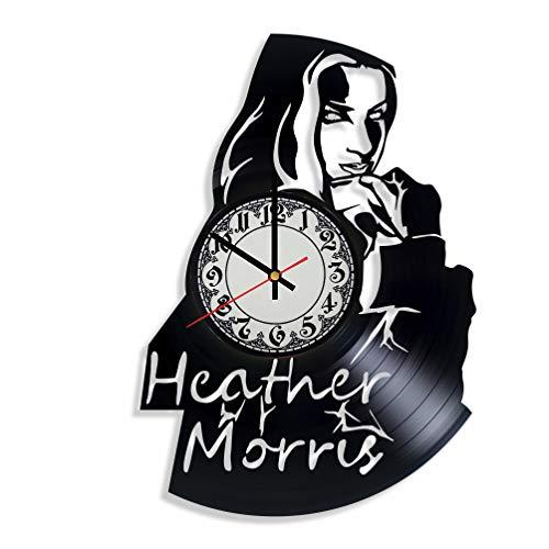 Heather Morris Actress Handmade Vinyl Record Wall Clock,