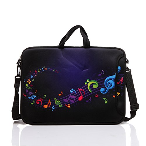 17-Inch to 17.3-Inch Neoprene Laptop Shoulder Messenger Bag Case Sleeve For 16 16.5 17 17.3