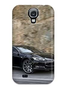 Awesome IElEBmc3492WlHmI Annie L Kurtz Defender Tpu Hard Case Cover For Galaxy S4- Tesla Model S 19
