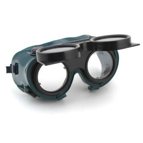 Safety First With This Adjustable Elastic Strap Welding Cutting Welders Safety Goggles Glasses In Dark Green Lenses That Can Flip Up And Down To Protect Your Eyes From Debris And - Spectacles Online Nz