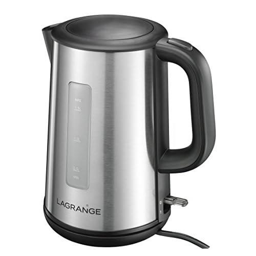 Lagrange 509 001 Naos Bouilloire Electrique Inox 22,8 x 15,5 x 24,1 cm 1,5 L