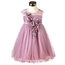 Super Cute Fashion Designer Flowers Girls Dresses For Party,Wedding,Pageant Size 4-12