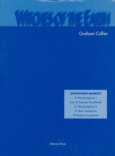 Partitions classique ADVANCE MUSIC COLLIER G. - WITCHES OF THE EARTH - 4 SAXOPHONES (S/AATB) Basson