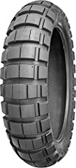 Utilizing the latest in big block tire technology these adventure tires are ideal for situations where a rider spends 40% on-road and 60% off-road.40% on-road and 60% off-road tire.Superior on-road handling and mileage.Stable sidewalls for so...
