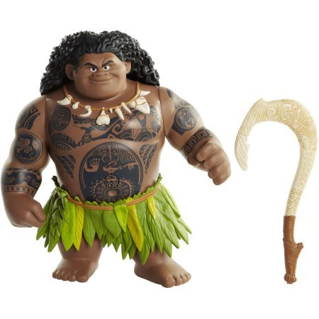 "Disney Moana Mega Maui Talking Figure 12 phrases 16"" tall by"
