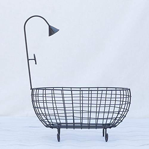 ZAMTAC Iron Studios Basket Shower Bathtub Prop Newborn Baby Photography Accessories Shooting Photo Posing Baby Photography Props - (Color: White) by ZAMTAC (Image #4)