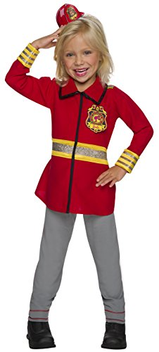 Rubie's Barbie Career Child's Costume, Firefighter, Firefighter, Small]()