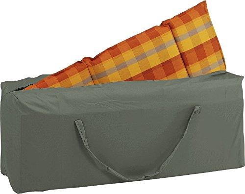 Stella Cover per mobili da giardino, Borsa per cuscini, colore: grigio tinta unita, 125x 32x 50cm, 0,8ml, 454819 Stern GmbH