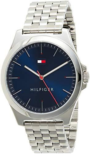 🥇 Tommy Hilfiger Reloj Analógico para Hombre de Cuarzo con Correa en Acero Inoxidable 01791713