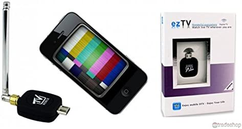 Receptor digital EZTV USB TV terrestre DVB-T/T2 Smartphone ...