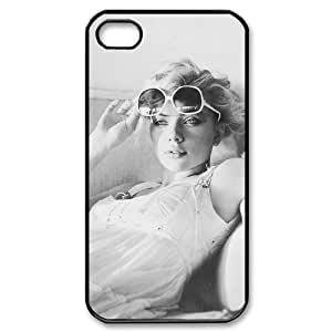 WJHSSB Cover Custom Scarlett Johansson Phone Case For Iphone 4/4s [Pattern-1]