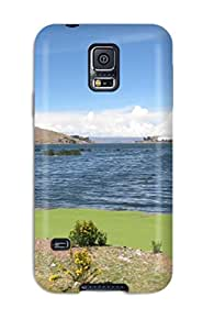 Juliam Beisel's Shop durable Protection Case Cover For Galaxy S5(titicaca Lake)