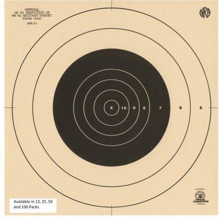 200 yard rifle target - 5