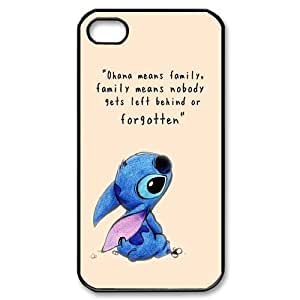 High Quality (SteveBrady Phone Case) Ohana Means Family, Funny Stitch For Iphone 4 4SPATTERN-9