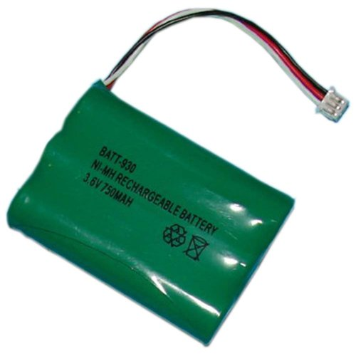 Toshiba BT-930 Cordless Phone Battery 3.6 Volt, Ni-MH 750mAh - Replacement For UNIDEN BT-930 Cordless Phone Battery