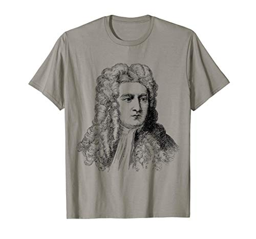 Isaac Newton T-Shirt (Isaac Newton And His Contribution To Science)