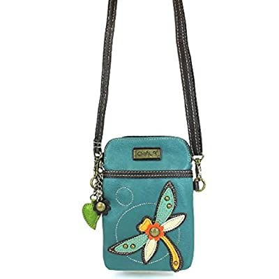 Chala Crossbody Cell Phone Purse – Women PU Leather Multicolor Handbag with Adjustable Strap