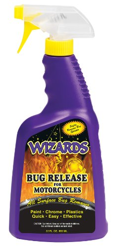 Wizards 22081 Bug Release for Motorcycles - 22 oz. (Best Car Wash Presoak)