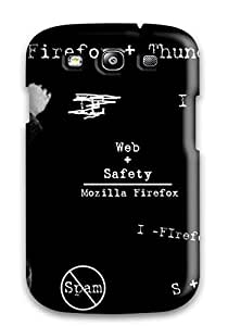 Top Quality Rugged Funny Einstein Case Cover For Galaxy S3