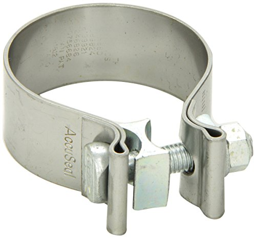 "Vibrant (1166) 2.5"" Stainless Steel Exhaust Seal Clamp"