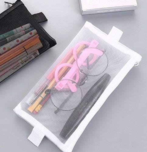 Mon5f stationery Schreibwaren Schreibwaren Schreibwaren Lieferungen Federmäppchen 2 Stücke Einfache Stil Große Größe Transparent Grid Pen Federmäppchen Federmäppchen Federtasche B07MVWXMXJ | Gewinnen Sie das Lob der Kunden  db709f