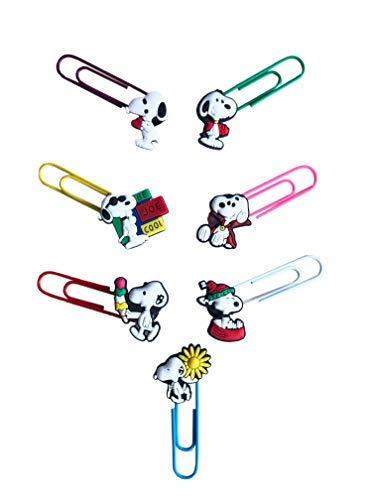 Snoopy Bookmark Paperclips