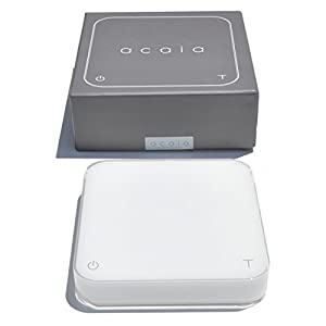 Acaia Interactive Coffee Brewing Scale - Pearl White from Acaia Corp.