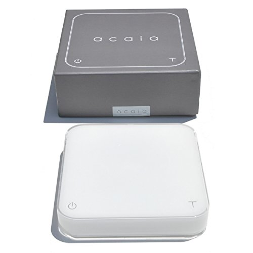 Acaia Interactive Coffee Brewing Scale - Pearl White by Acaia Corp.